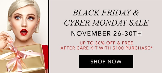 Black Friday and Cyber Monday Eyelash Extensions Sale at GladGirl